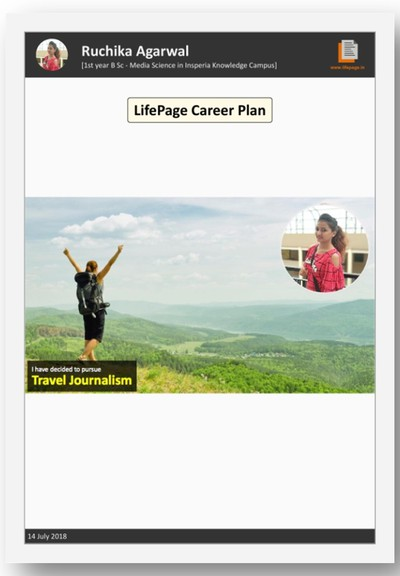 LifePage Career Plan