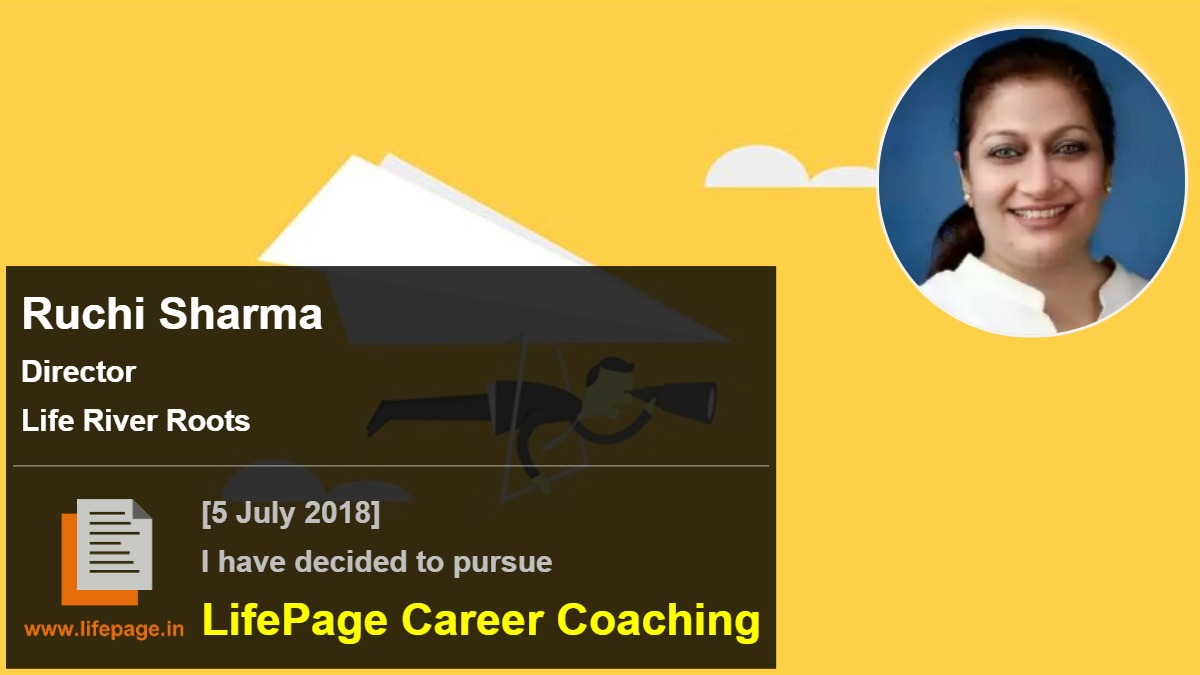 Ruchi Sharma | Working Professional Testimonial | LifePage Career Plan