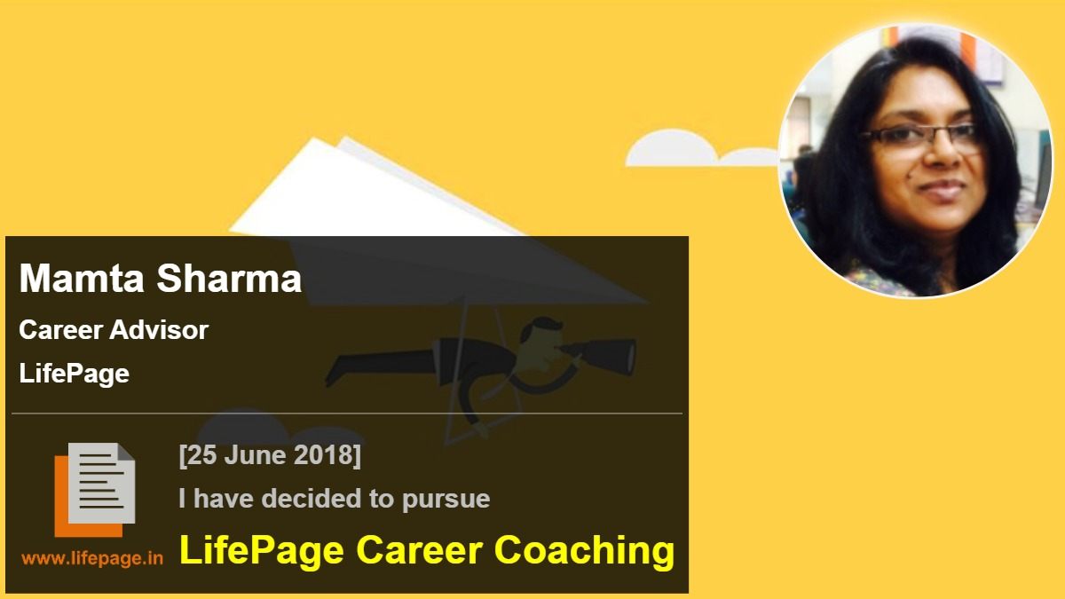 Mamta Sharma | Working Professional Testimonial | LifePage Career Plan