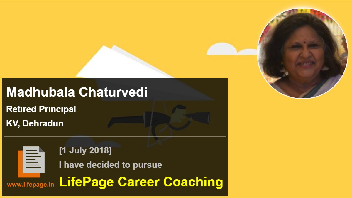 Madhubala Chaturvedi | Working Professional Testimonial | LifePage Career Plan
