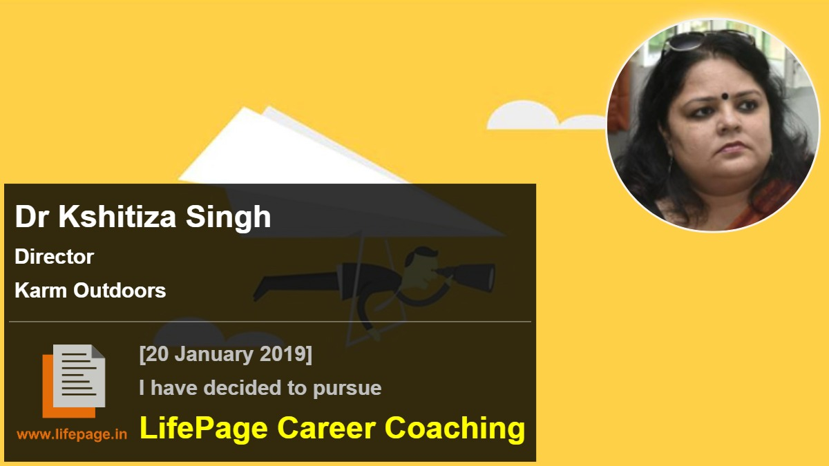 Dr Kshitiza Singh | Working Professional Testimonial | LifePage Career Plan