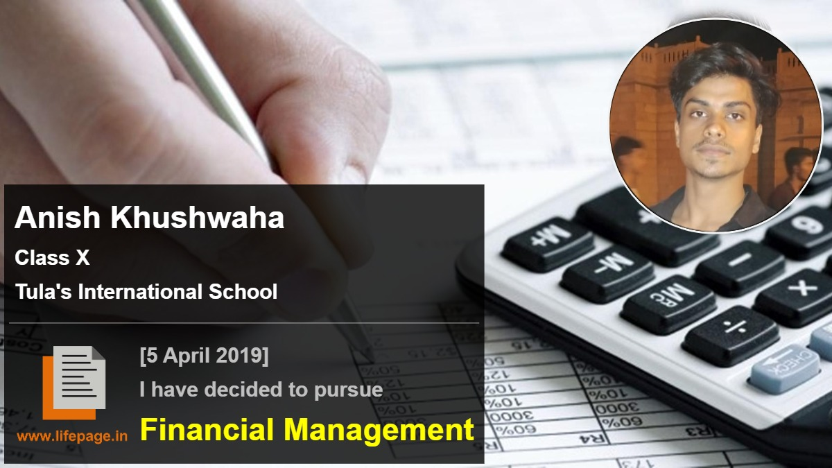 Anish Khushwaha | School Student Testimonial | LifePage Career Plan